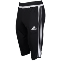 adidas Team Tiro 3/4 Pant - Men's - Black / White