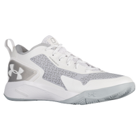 Under Armour Clutchfit Drive 2 Low - Men's -  Emmanuel Mudiay - White / Silver