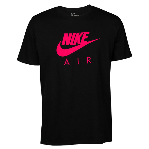 Nike Graphic T-Shirt - Men's - Casual - Clothing - Black/Pink