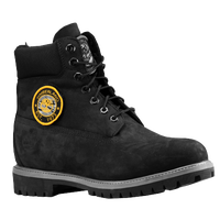 "Timberland 6"" Premium Waterproof Boots - Men's - All Black / Grey"
