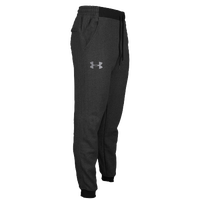 Under Armour Rival Cotton Novelty Jogger Pants - Men's - Grey / Grey
