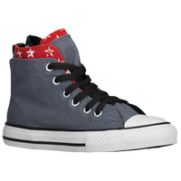 Converse CT Backzip - Girls' Preschool - Grey / Red