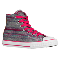 Converse All Star Hi Summer Crafted - Boys' Grade School - Pink / Grey