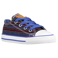 Converse All Star Ox Summer Crafted - Boys' Grade School - Black / Purple
