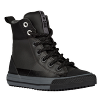 Converse All Star Asphalt Boot - Boys' Grade School - Black / Grey