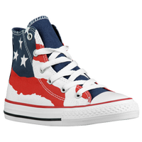 Converse All Star Hi - Boys' Grade School - Navy / Red