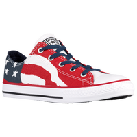 Converse All Star Ox - Boys' Grade School - Navy / Red
