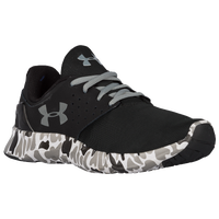 Under Armour Flow Run - Boys' Preschool - Black / Grey
