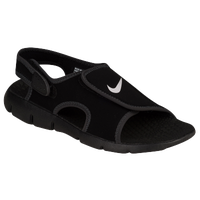 Nike Sunray Adjust 4 - Boys' Preschool - Black / Grey