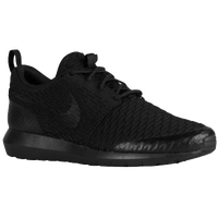 Nike Roshe Flyknit - Men's - All Black / Black