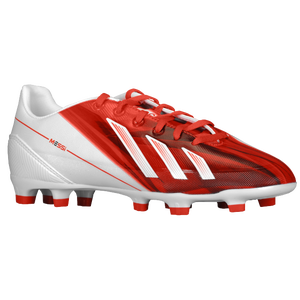 adidas F30 Messi TRX FG - Boys' Grade School - Running White/Black/Dark Orange