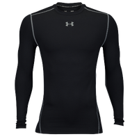 Under Armour Coldgear Armour Compression Crew - Men's - Black / Grey