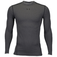 Under Armour Coldgear Armour Compression Crew - Men's - Grey / Black