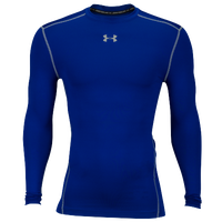 Under Armour Coldgear Armour Compression Crew - Men's - Blue / Grey