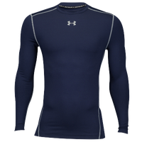 Under Armour Coldgear Armour Compression Crew - Men's - Navy / Grey
