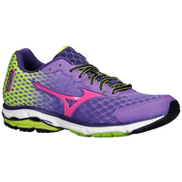 Mizuno Wave Rider 18 - Women's - Purple / Pink