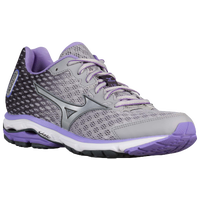 Mizuno Wave Rider 18 - Women's - Grey / Purple
