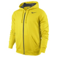 Nike KO Full Zip Hoodie - Men's - Yellow / Grey
