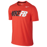 Nike Football Graphic T-Shirt - Men's - Red / Black