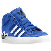 8b694f7bb138 adidas Originals Hard Court Hi - Boys  Toddler - Blue   White