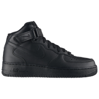 Nike Air Force 1 07 - Women's - All Black / Black