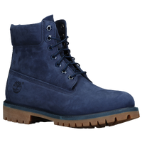 "Timberland 6"" Premium Waterproof Boots - Men's - Navy / Brown"