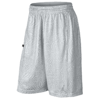 Jordan S.Flight Sonic Print Shorts - Men's - White / Grey