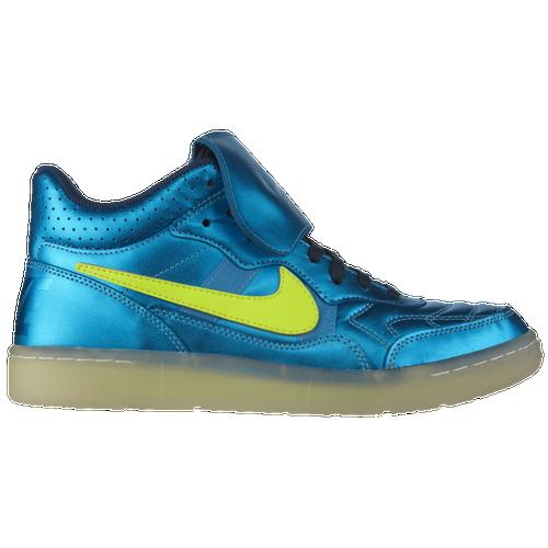 best service 31399 aabc7 Nike Tiempo 94 Mid Mens Soccer Shoes Space Blue Volt