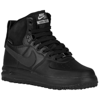 Nike Lunar Force 1 Sneaker Boot - Boys' Grade School - All Black / Black