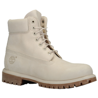 "Timberland 6"" Premium Waterproof Boots - Men's - Off-White / Brown"