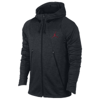Jordan Flight Fleece OD Hoodie - Men's - Black / Red