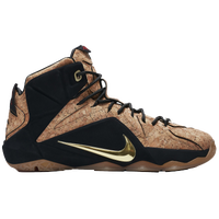 Nike LeBron 12 EXT - Men's -  LeBron James - Tan / Black