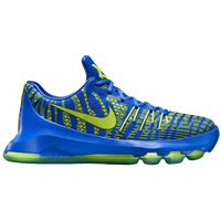 Nike KD 8 - Boys' Grade School - Blue / Light Green