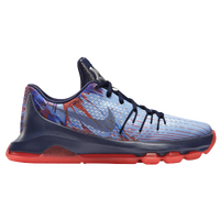 Nike KD 8 - Boys' Grade School - Blue / Red