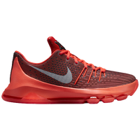 Nike KD 8 - Boys' Grade School - Red / Black