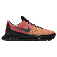 Nike KD 8 - Boys' Grade School -  Kevin Durant - Orange / Light Green