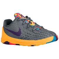 Nike KD 8 - Boys' Toddler -  Kevin Durant - Grey / Purple