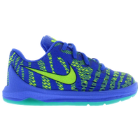 Nike KD 8 - Boys' Toddler - Blue / Light Green