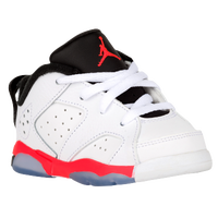 Jordan Retro 6 Low - Boys' Toddler - White / Black