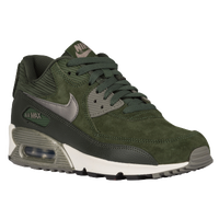 Nike Air Max 90 - Women's - Green / Dark Green