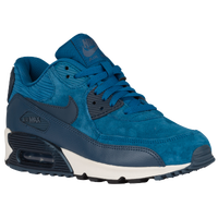 Nike Air Max 90 - Women's - Light Blue / Blue