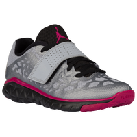 Jordan Flight Flex Trainer 2 - Girls' Grade School - Grey / Pink