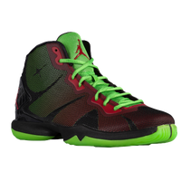 Jordan Super.Fly 4 - Men's - Black / Light Green