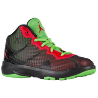 Jordan Super.Fly 4 - Boys' Preschool - Black / Light Green