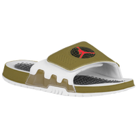 Jordan Retro 9 Hydro - Men's - Olive Green / Red