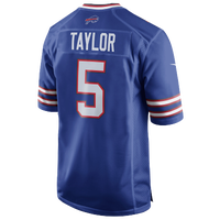 Nike NFL Game Day Jersey - Men's -  Tyrod Taylor - Buffalo Bills - Blue / White