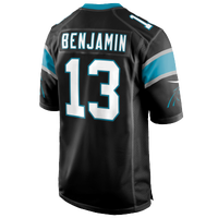 Nike NFL Game Day Jersey - Men's -  Kelvin Benjamin - Carolina Panthers - Black / White