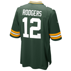Nike NFL Game Day Jersey - Men's - Rodgers, Aaron - Green Bay Packers - Fir