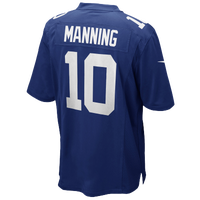 Nike NFL Game Day Jersey - Men's -  Eli Manning - New York Giants - Blue / White