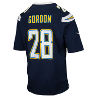 Nike NFL Game Day Jersey - Men's -  Melvin Gordon - San Diego Chargers - Navy / White